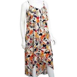 BCBG Paris Women's High Low Maxi Dress